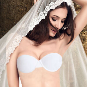 Super Boost Push Up Bra Wedding Invisible Lingerie Bra Strapless Multi-way Bras