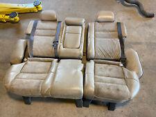 94-00 Volvo 850 850R V70 V70R XC Tan Rear Seat Leather Alacantara Stitched #426E