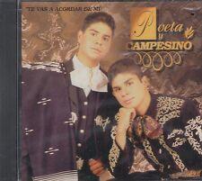 Poeta y Campesino Te Vas A Acordar De Mi CD Nuevo