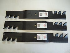 "3 New HD Mulching Blades For 52"" Grasshopper 320236 320237 320239 USA MADE"