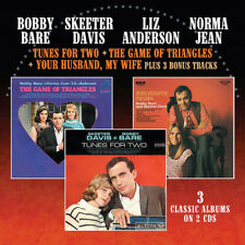 Bobby Bare : Tunes for Two/Game of Triangles/Your Husband, My Wife CD 2 discs