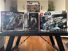 Lego Star Wars Lot 4 Slave 1 Mandalorian Razor Crest Trouble Tatooine Boba Fett
