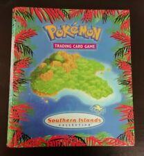 Pokémon - Binder / Album Raccoglitore - WOTC - Southern Islands