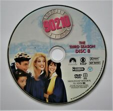 (ZERO SCRATCHES) BEVERLY HILLS 90210 - SEASON 3 DISC 8 REPLACEMENT DVD DISC ONLY