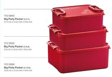 New Tupperware Big Party Packer 3pc