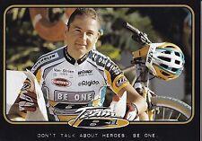 CYCLISME carte  cycliste PATRICK TOLHOEK équipe TEAM  BE ONE BIKES cyclo cross