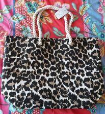 Leopard Print Summer Beach Bag