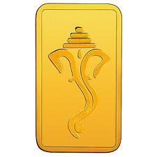RSBL eCoins Ganeshji 4 gm Gold Bar 24 kt purity 999 Fineness- WITH TAX INVOICE