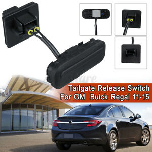 Trunk Lid Release Tailgate Opening Switch For GM Buick Regal 11 12 13 -15 Black
