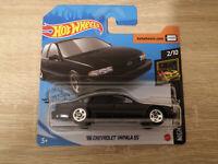 2020 Hot Wheels '96 Chevrolet Impala SS - 1:64 1/64 Nightburnerz 2/10 Black