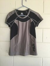 Women 's Fila Performance T-Shirt Top Exercise Gym Fitness Running sports M