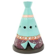 Ceramic Incense Burner Boho Bandit Teepee Incense Cone Holder Indian Ethnic Gift
