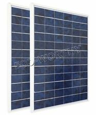 20W 12V Solar Panel 2x 10W PV Solar Module for Battery Charger RV Car Boat