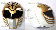 Cosplay Mighty Morphin Power Rangers WHITE 1/1 Scale Life-size Helmet Hero Props