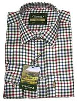 Mens Champion YORK Long Sleeve COUNTRY CHECK Shirts Work Outdoor Checked