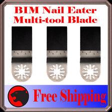 3 Pcs Nail Eater Oscillating Multitool For Ridgid Ryobi Jobmax Craftsman