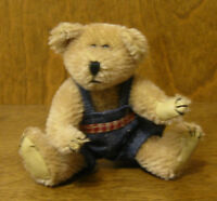 "Boyds Mini Mohair #590103 Uncle Ben Bearington, 4.5"" NEW/Tag From Retail Store"