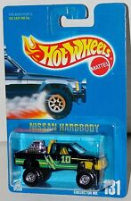 Hot Wheels Nissan Hardbody Pickup Truck - Blue Card Collector #131 Malaysia 1992