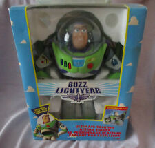 BUZZ LIGHTYEAR 12 IN. - UNOPENED BOX - ENGLISH/FRENCH - 1995 ORIGINAL TOY STORY