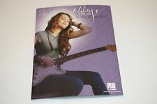 MILEY CYRUS THE TIME OF OUR LIVES SHEET MUSIC SONG BOOK