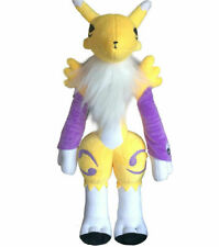21''Anime Digital Monster Digimon Tamers Renamon Plush Toy Stuffed Kid Gifts