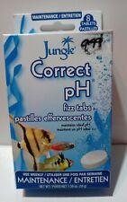Aquarium Jungle Correct Aquarium pH Fizz Tabs 8 Tablets - Weekly Maintenance New