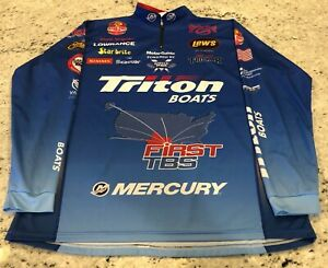 Shaw Grigsby Autographed Bass Pro Tour Tournament Long Sleeve Jersey