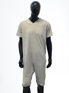 Pigiama Tutone Sanitario COMFORT Manica Corta Pantalone Corto 1 Cerniera/Zip