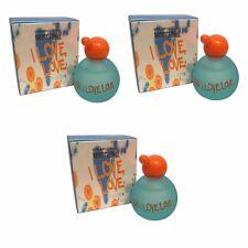 Moschino Cheap e Chic I Love Love per le donne profumo in MINIATURA MINI 4.9 ML EDTx3