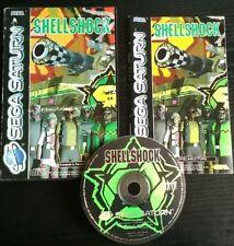 Shellshock ++ komplett ++ EU PAL ++ (Sega Saturn, 1994)