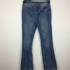 Silver Women Jeans Size 16 Blue Zane Boot Cut C10