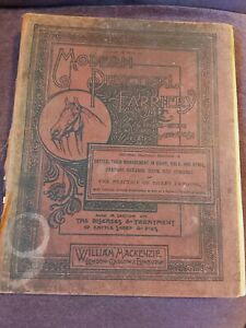 Antique Book Modern Practical Farriery Complete System Veterinary Art c1880 a/f