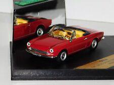 FIAT 124 SPIDER SPORT 1966 ROSSO VITESSE 046A 1:43