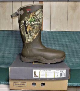 "LaCrosse 17"" Alpha Agility Men's Boot 1200 Gram Thinsulate/Waterproof Size 14"