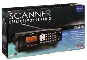 Whistler WS1065 Digital Desktop/Mobile Radio Scanner Brand New