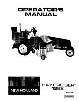 New Holland 1282 Baler Operators Manual