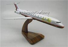 MD-80 TransWorld TWA McDonnell Airplane Mahogany Kiln Dry Wood Model Small New