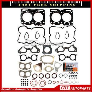 Head Gasket Set Fits 06-13 Subaru Impreza Forester Wrx STI TURBO 2.5L DOHC EJ255