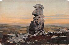 Bowermans Nose Dartmoor Uk Stacked Granite~Chapman Published Postcard