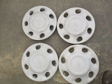 "Ford Escort 1994 1995 1996 14"" Factory Hubcaps SET OF 4 OEM USED CONTOUR 94 95"