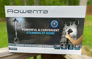 NEW Rowenta Expert Style Garment Steamer IS3421U1 1500 Watts XL Steam FREE SHIP