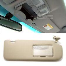 OEM Interior Hand Sun Visor Shade RH Beige for HYUNDAI 2006-2010 Sonata NF i45