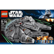 LEGO Star Wars Millennium Falcon 7965  Empire Strikes Back Han Solo Luke Chewy