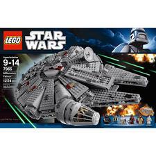 LEGO Star Wars Millennium Falcon 7965  Empire Strikes Back Han Solo Luke Chewy