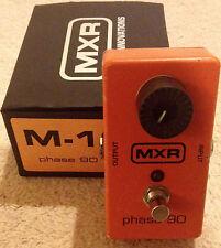 MXR M-101 Phase 90 Pedal Phaser EVH Phase Shifter Analog