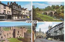 Shropshire Postcard - Views of Ludlow    A692