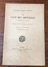 LIVRE DE PHOTOGRAPHIE GUERIN-CATELAIN LE SAUT DES OBSTACLES E.O. 1898