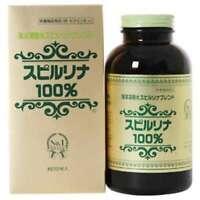 Japan Algae 1500 Tablets Ocean Deep Water Spirulina 100% Blend Made in Japan NEW