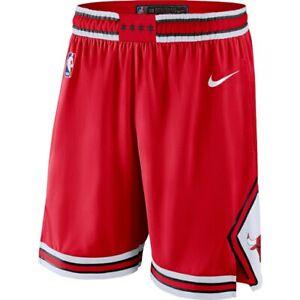 Nike Chicago Bulls Icon Edition Swingman Shorts Red/White L, XL, 2XL Jordan BRED