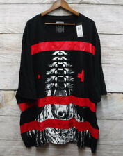 Sean John Big Mens Size 4XB Black Sequential Roaring Tiger Graphic T-Shirt New